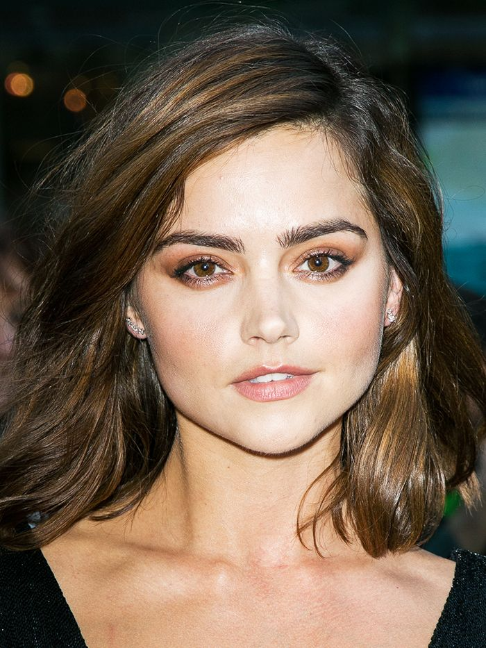 #3: A decent bronzer goes a long way. This gorgeous tanned look is all down to a decent bronzer. You can even use it on your eyes to re-create Jenna Coleman's sultry smoky eye.