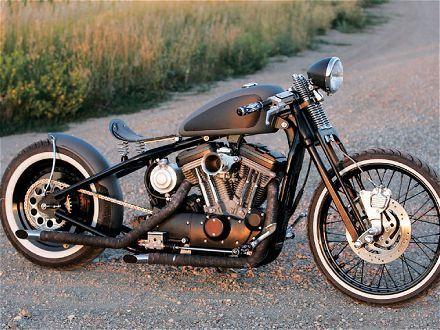 Harley Bobber - Bad AssMotorcycles, Harley Davidson, Old Schools, Cafes Racers, Bobber, Custom Bikes, Cool Stuff, American Beautiful, Harleydavidson