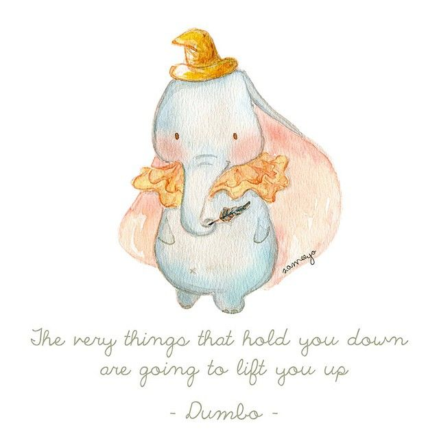 Cute Dumbo Quotes Dumbo And Stitch Cool Dumbo Quotes