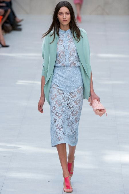 Burberry Prorsum Spring 2014 Ready-to-Wear Collection Slideshow on Style.com