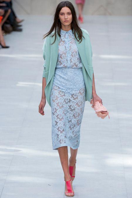 tallgirltales: London Fashion Week S/S 2014 | Burberry...