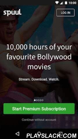 Spuul - Indian Movies & TV  Android App - playslack.com ,  Spuul brings you the best in in Indian Entertaintment. You can stream & download full-length movies in Hindi, Punjabi, Malayalam & other languages. Watch it on your phone, desktop or TV. It's your daily dose of unlimited Indian content, in the palm of your hand! What's New? *Download movies in under 60MB. Watch your video as it downloads in the background*Adjust video quality according to the speed of your internet connection *Re