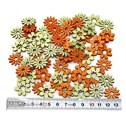 72st. Bois de litière Fleurs Mini, Orange + Clair 2cm, NICE Price.: Cet article 72st. Bois de litière Fleurs Mini, Orange + Clair 2cm,…