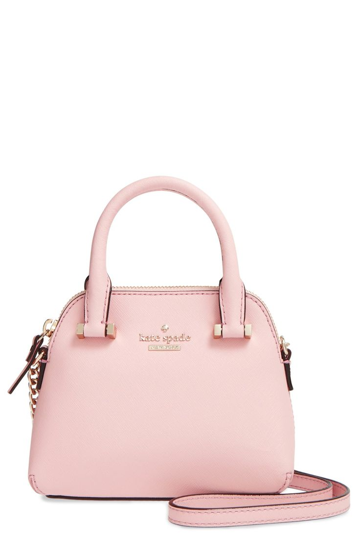 kate spade new york 'cedar street - mini maise' crossbody bag in rose jade