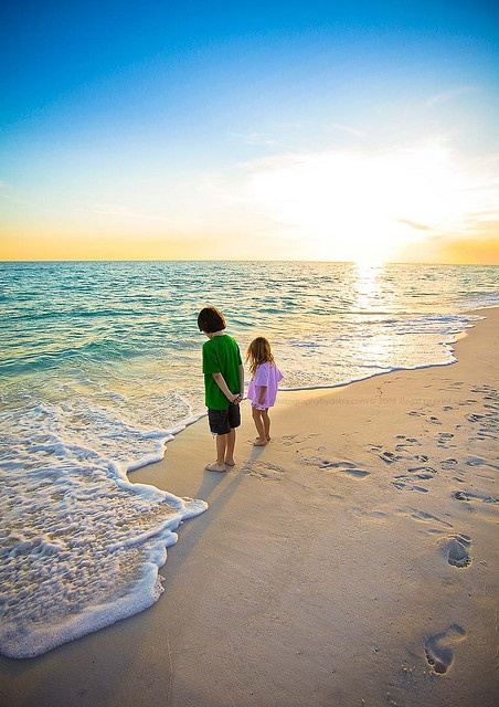 Let your little ones get their feet wet, exploring the unknown at Hyatt All Inclusive Resorts.