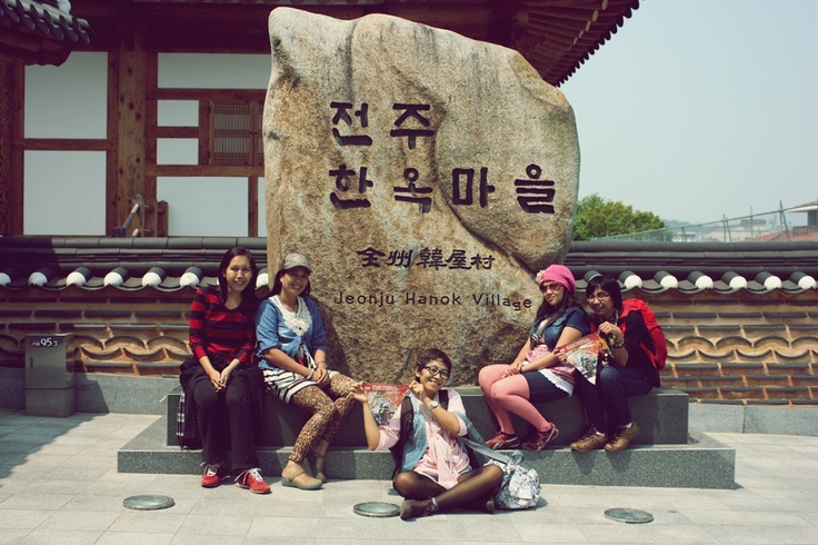 Hanok Village - trip Beijing to Seoul 2012