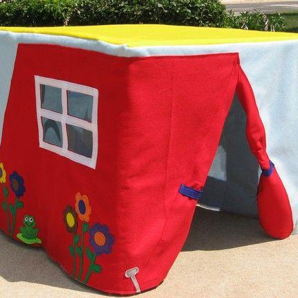 play huts