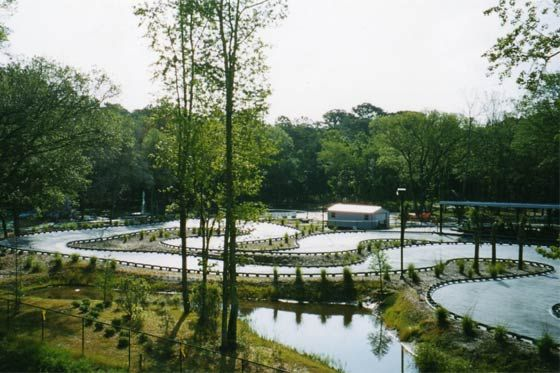how about a go kart track in your backyard?