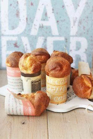 vivianに学ぶ季節のパンとお菓子「ポップオーバー」 | お菓子・パンのレシピや作り方【corecle*コレクル】