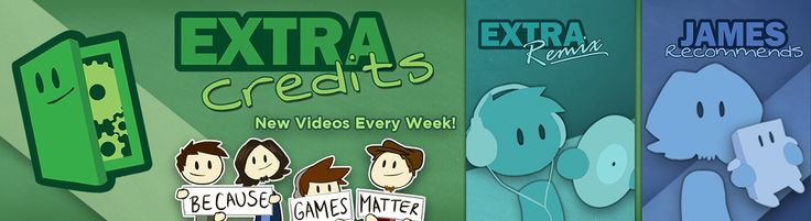 Extra Credits - YouTube:  short videos about how #games work #gamer #edgames #seriousgames