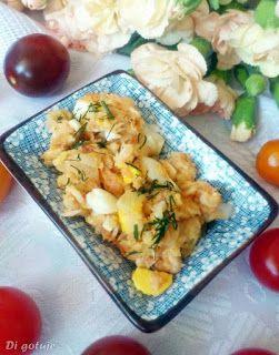 Di gotuje: Sałatka z wędzonym pstrągiem