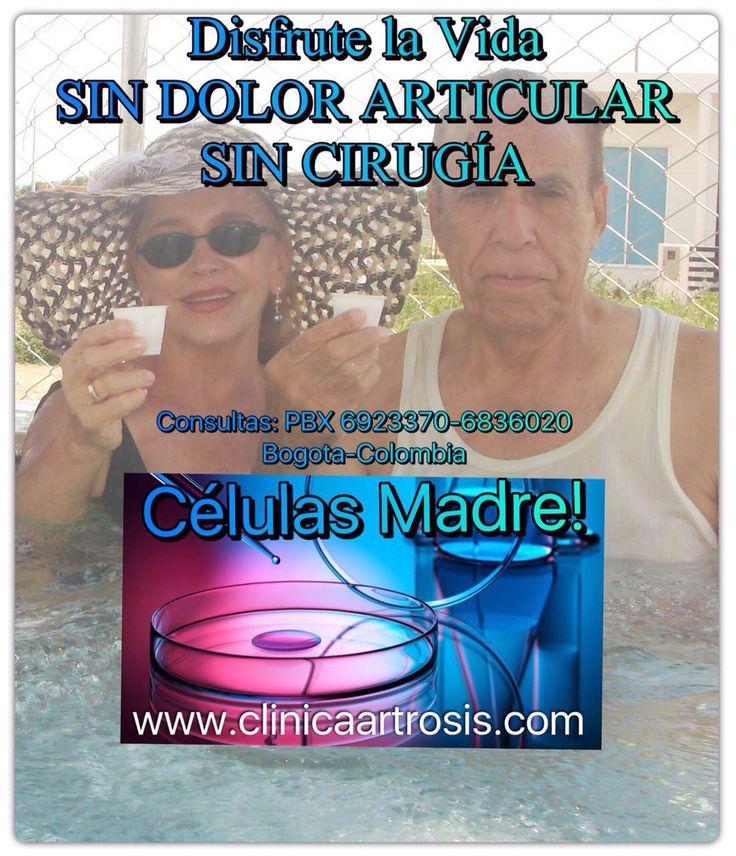 Disfrute la vida sin dolores articulares que le impidan sus actividades cotidianas diarias en Bogotá - Colombia www.clinicaartrosis.com PBX: 6836020