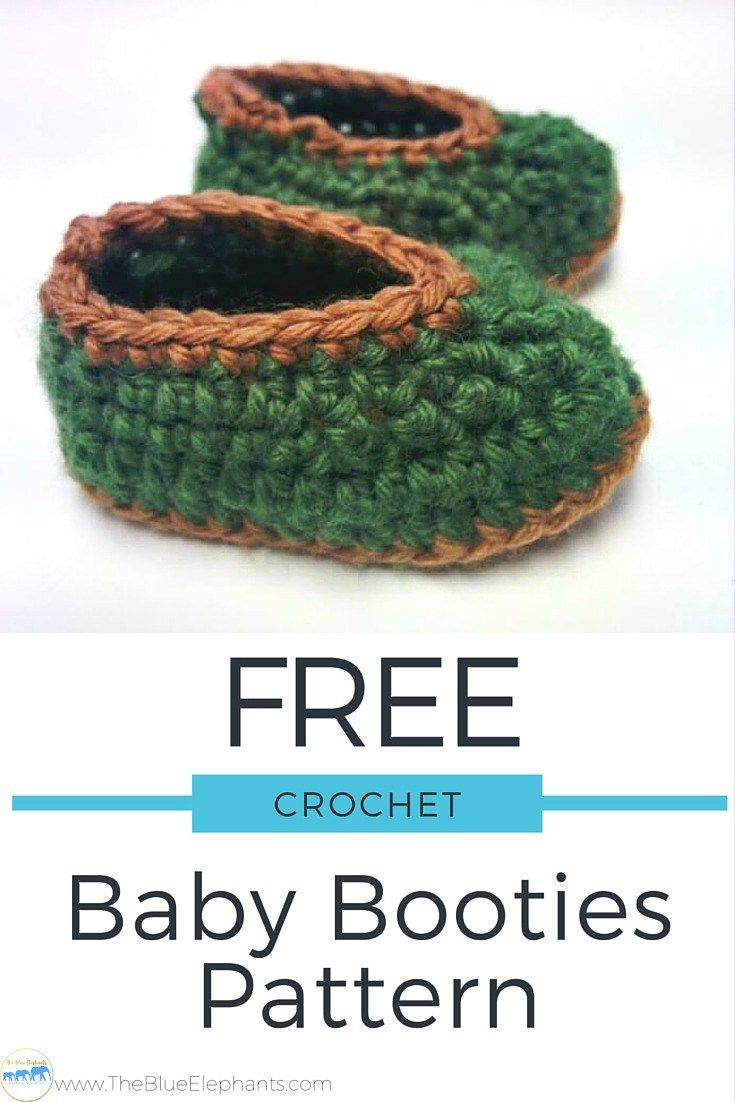 These basic baby booties are great whether you're just learning to crochet or if you're a seasoned pro. They only use small amounts of yarn so they're perfect for stash busting and they make great gifts! These baby booties are the basic crochet pattern that I always turn to when I want to make a pair of simple, no-fuss booties. They work  up quickly, can be customized for boys or girls, and but most importantly, they are a great pattern for beginners to practice with. Free Baby Booties…