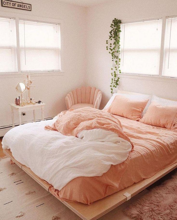 спальня в персиковых тонах фото фотоаппаратов