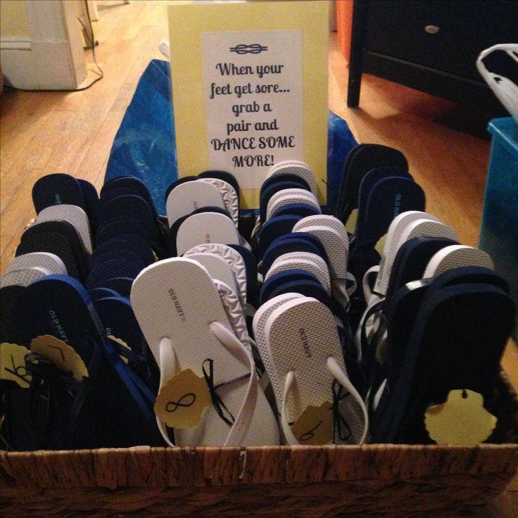 Flip-flops for guest