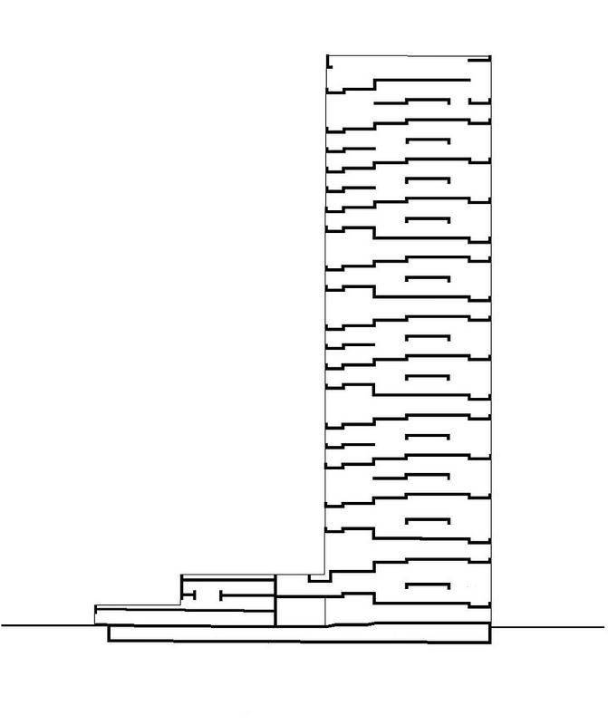 1970 - Kanchanjunga apartments Charles Correa - Mumbai, India