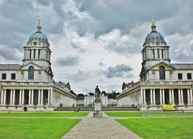 The Old Royal Naval College, Greenwich, London, UK