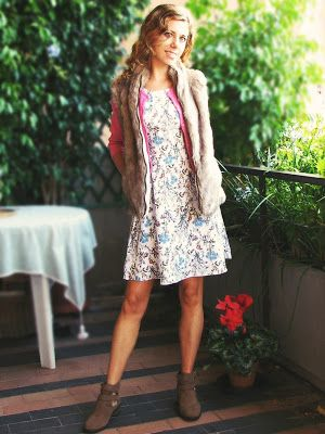 http://s-fashion-avenue.blogspot.it/2016/11/ootd-fur-flowes-for-fall.html #style #chic #fashion #winter #trend #look