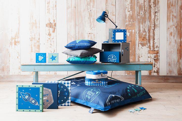 jongenskamer  cushions boysroom  collectie Leen Bakker 2014  lief ...
