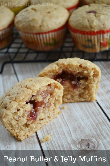 PB Our Way: Peanut Butter & Jelly Muffins featuring Welch's Natural ...
