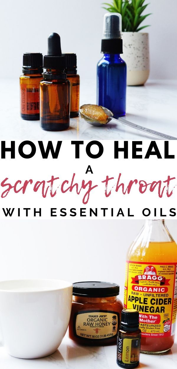 How to Soothe a Sore Throat with Essential Oils