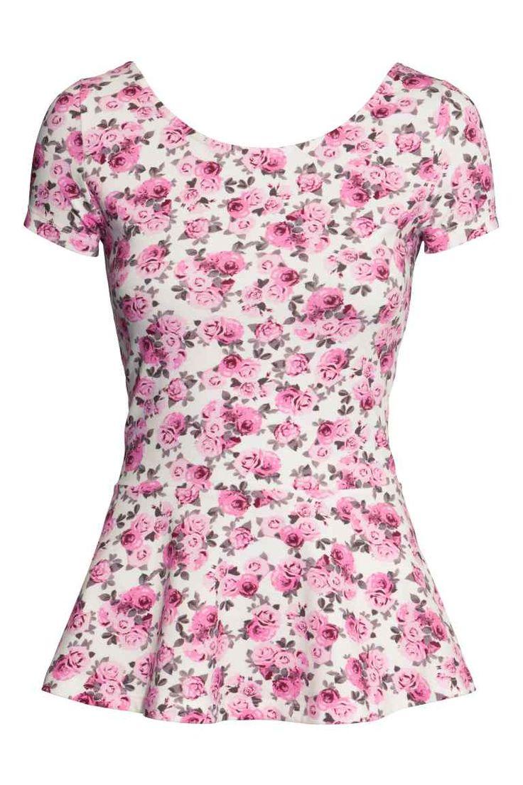 Camiseta con peplo | H&M