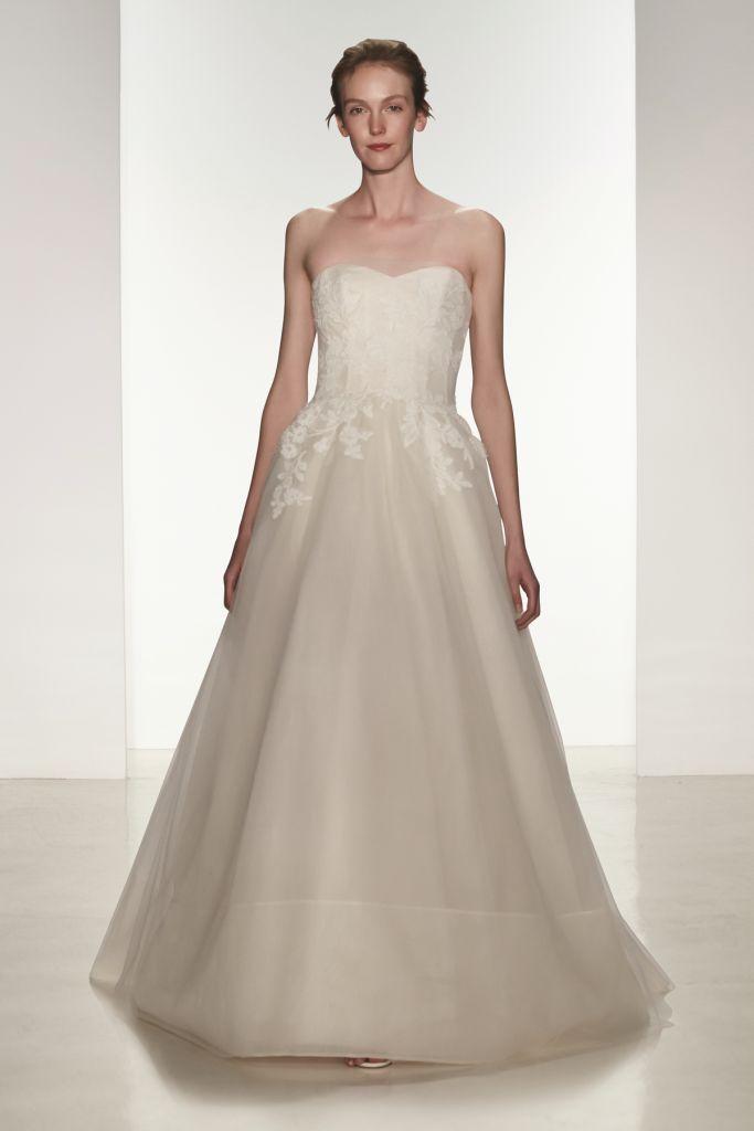43 best Amsale Wedding Dresses images on Pinterest   Short wedding ...