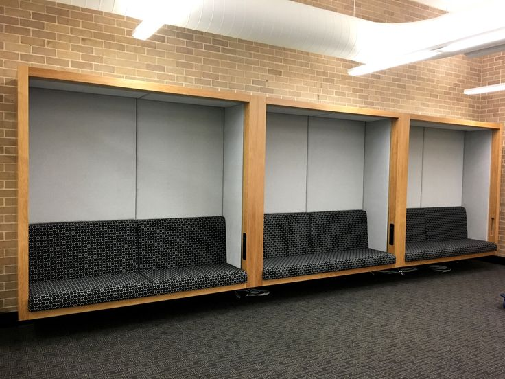 Custom booth seating by Burgtec
