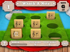 Lots of links for kids music games online