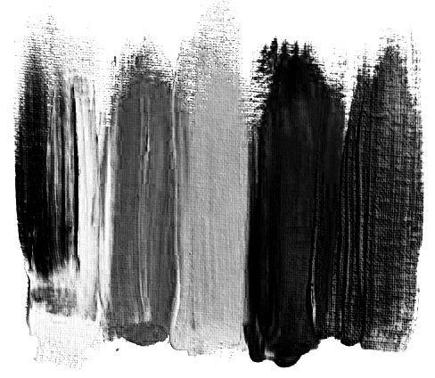 Inspiration   ganz schwarz   Farben   Farbschema   Schatten   Schattierung einfarbig   schwarz   grau   weiß  