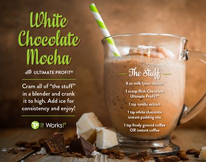 Protein shakes aren't just for drinking! Although, there are some AWESOME shake recipes here! Use It Works ProFit Protein Shake powder in recipes to pack them FULL of good protein and add GREAT taste to your food!!! www.wrapwithtia.com