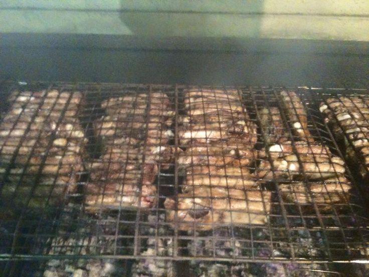 Al via #festaSanGiuseppe di Vicenza, zona Mercato Nuovo. Adoriamo la carne cotta ai ferri!