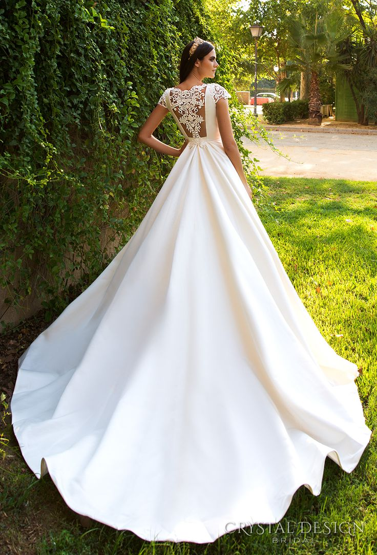 Best 25 crystal wedding dresses ideas on pinterest for Best wedding dresses with sleeves