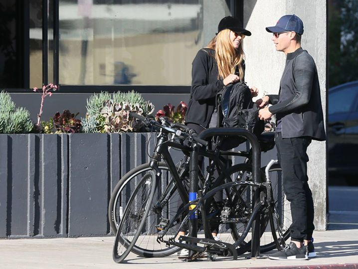 Ryan Seacrest -- Out Ridin' with His Ex GF (PHOTOS)