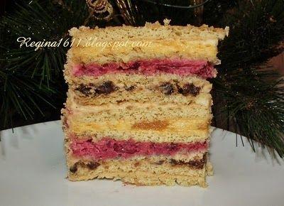 Для влюблённых в торты и не только...: Песочный торт с разными кремами
