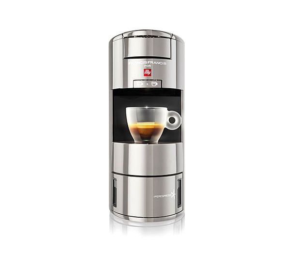 If he's a caffeine snob and in the market for an espresso machine, this one uses the best tech and happens to fit nicely even in the smallest of kitchens.