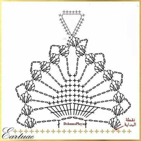 crochet sandal diagram  #10