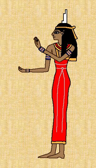 Isis was the daughter of Nut, wife of Osiris, and mother ...
