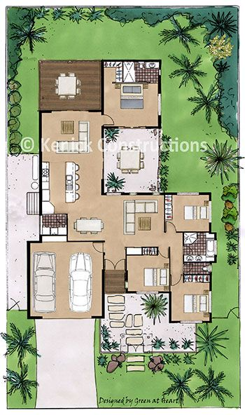 422 best Floor plans - single images on Pinterest | Floor plans ...