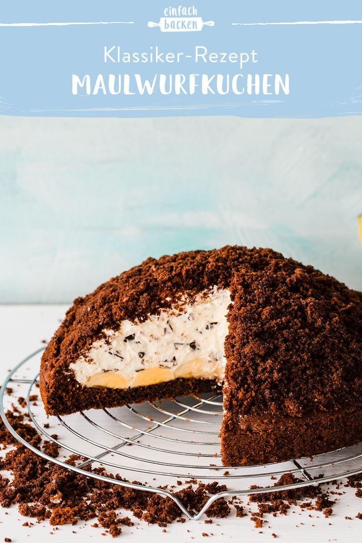 Maulwurfskuchen – das beste Rezept   – Schokolade – Die besten Schoko-Rezepte
