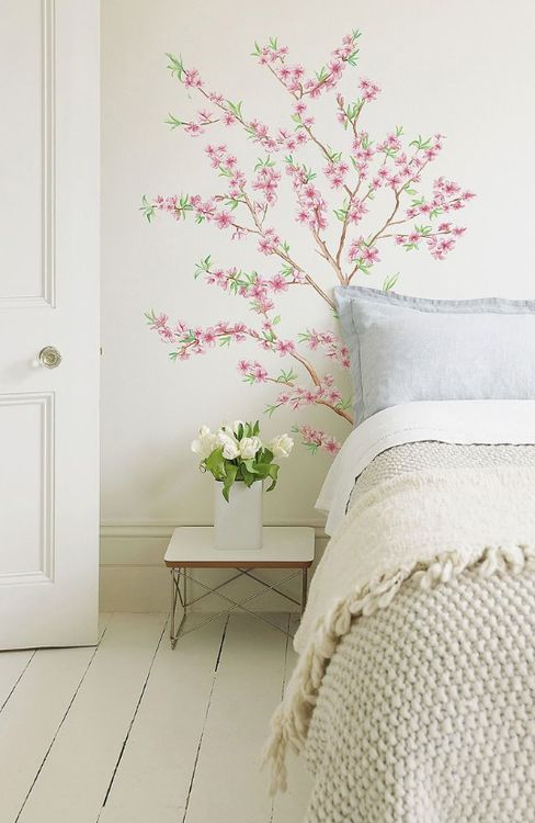 cuute bedroom, makes me think white floorboards might look good