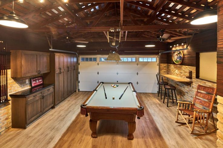 1000 ideas about garage room conversion on pinterest for Garage game room