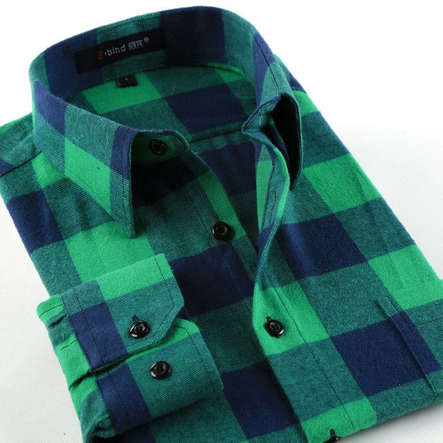 FREE SHIP, Green Flannel Shirts For All Seasons!! All Sizes- For the Hipster in you!!