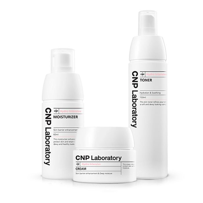KOREAN CNP Laboratory Hydro Intensive Set - Skin barrier enhance & Deep moisture #CNPLaboratory