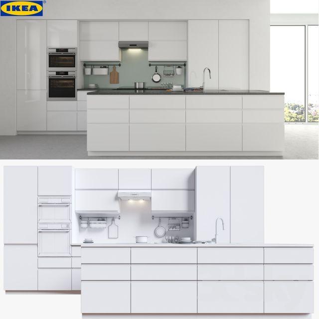 Ikea Voxtorp Building Kitchen Cabinets Ikea Kitchen