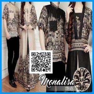 batik couple monalisa trendy MTFJ21