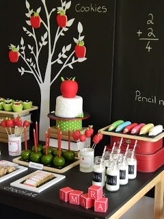 Kinderfeestje met thema school - Back to school Party by Just call me Martha