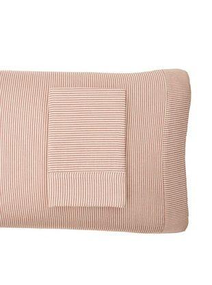 Coyuchi Mini Stripe Cotton/Linen Envelope Pillowcase