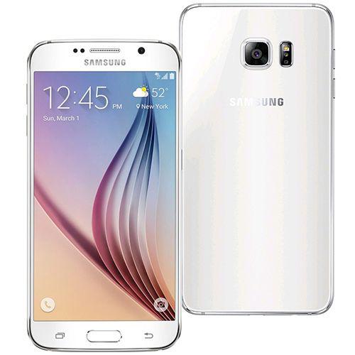 Refurbished Samsung Galaxy S6 Unlocked White 32GB   Buy Samsung