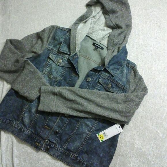 Nwt denim jean jacket hoodie new unwor. Relativity Denim jean jacket hoodie. Nwt. Lowest price Relativity Jackets & Coats Jean Jackets